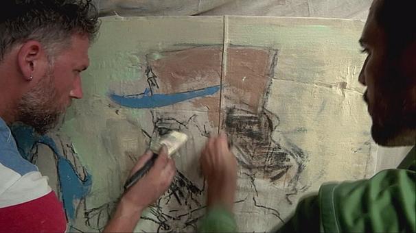 Artistas norte-americanos pintam realidade cubana