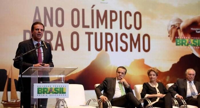 "Dilma Rousseff lança ""Ano Olímpico para o Turismo"""