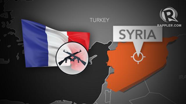 Crime da França na Síria