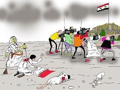 Como funciona a fonte da campanha obscurantista da mídia sobre a Síria