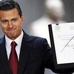 Enrique Peña Nieto, presidente do México, anuncia avanços para legalizar maconha
