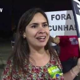 Hispan TV mostra manifestação contra o golpe nos EUA
