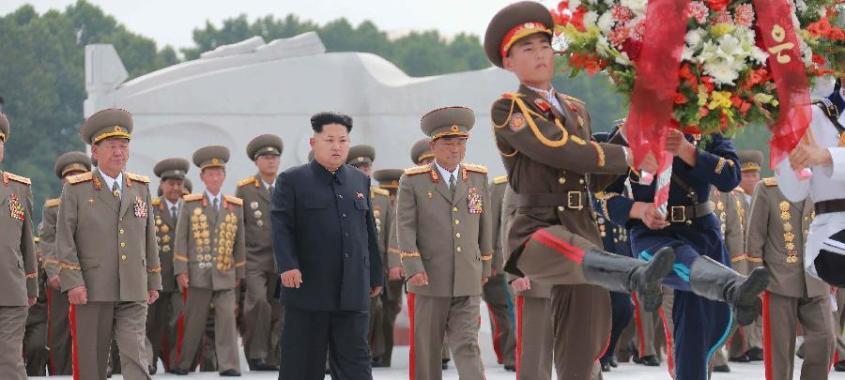 Comemoração do Dia do Exército na República Popular Democrática da Coreia