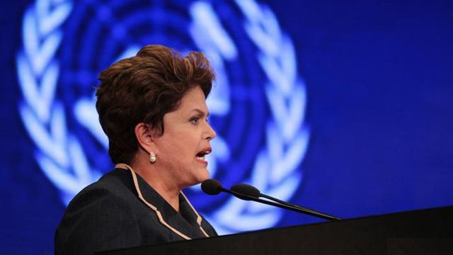 Denuncie o golpe na tribuna da ONU, presidenta Dilma