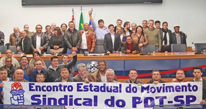 """Sindicalistas do PDT repudiam """"Plano Temer"""""""