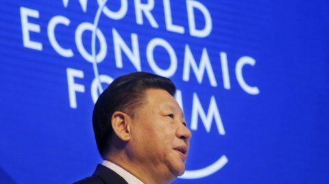 Presidente chinês, Xi Jinping, aborda, em Davos, aspectos das tensões mundiais