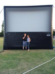 uk outside Cinema company