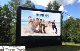 Mamma Mia outside cinema
