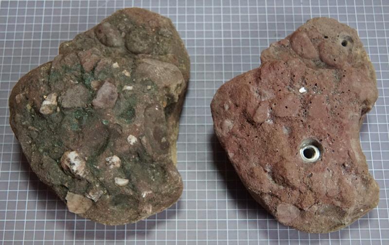 Rockmoves Klettergriffe - das Orginal und die Kopie