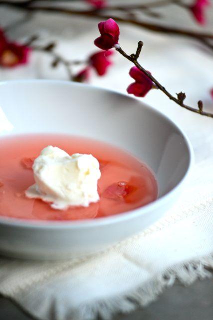 Scandinavian Rhubarb Soup