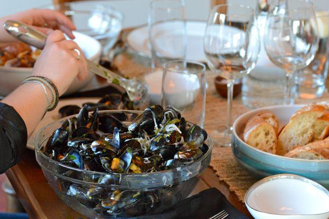 Book Club Mussels