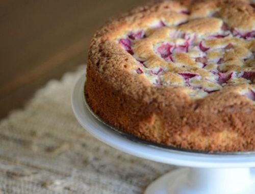 Norwegian Rhubarb Cake