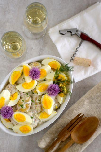Scandinavian Potato and Egg Salad