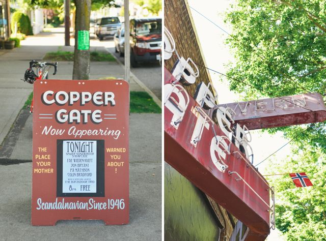 Copper Gate Diptych
