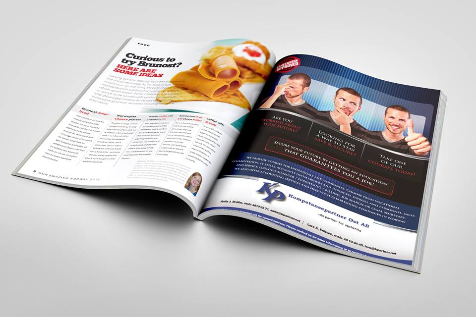 Our Amazing Norway Brunost Article Spread