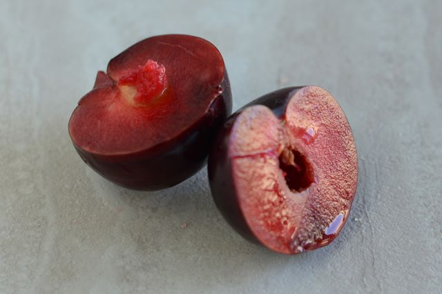 Red Stone Fruit