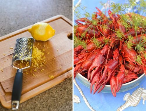 Lemon and Crayfish