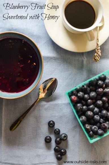 Blueberry Fruit Soup