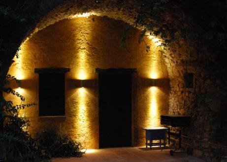 Iluminación porche