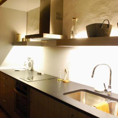 Luces cocinas, iluminación lineal, tiras led