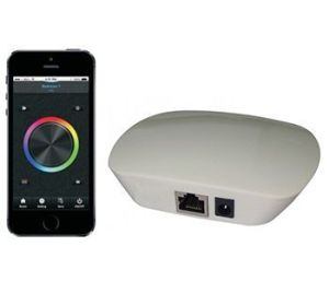 App control iluminación LED RGB. Luces habitación