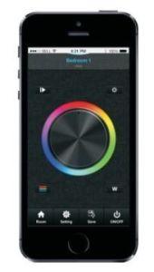 App control iluminación LED RGB