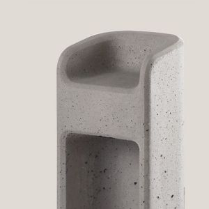 Baliza led para exterior de hormigón