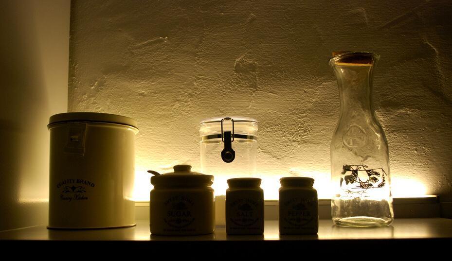 Luces led cocina