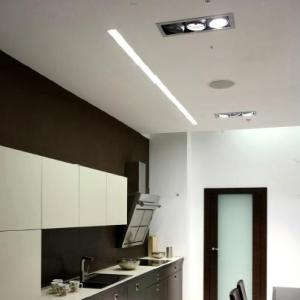 Perfil LED lineal trimless