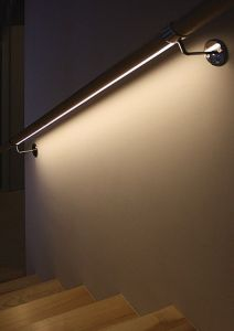 Iluminación en barandillas
