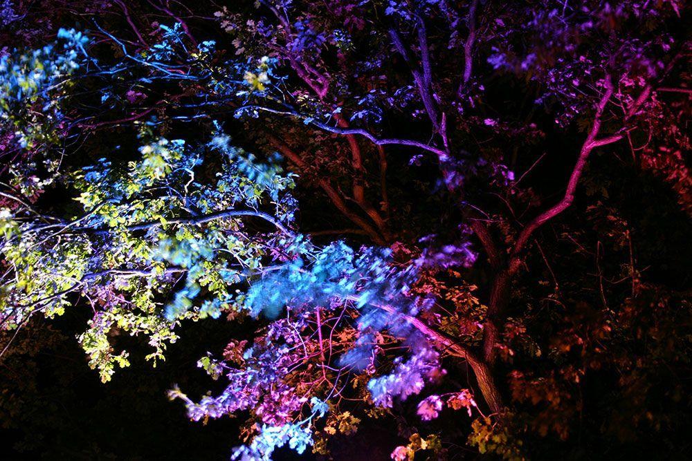 iluminación RGB