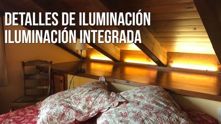 iluminación led indirecta