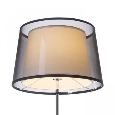 Lámpara decorativa con pantalla textil