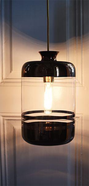 Lámpara de cristal decorativa modelo Pillar proyectos de iluminación