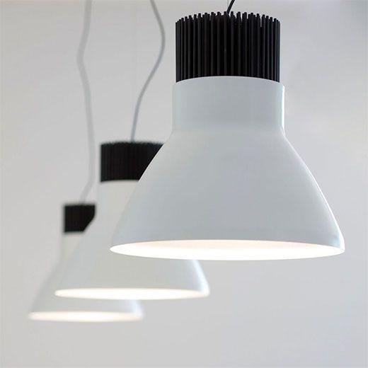 Lámpara de campana tipo industrial
