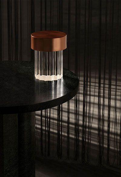 Lámpara inalámbrica recargable y portátil