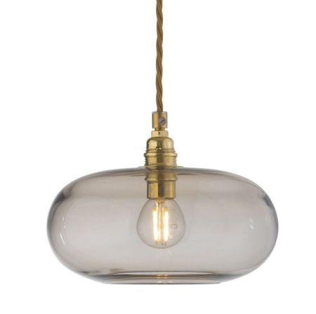 Lámpara led de cristal suspendida