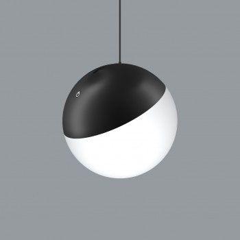 Lámpara tipo globo para carril