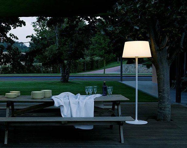 Luces para jardines y terrazas