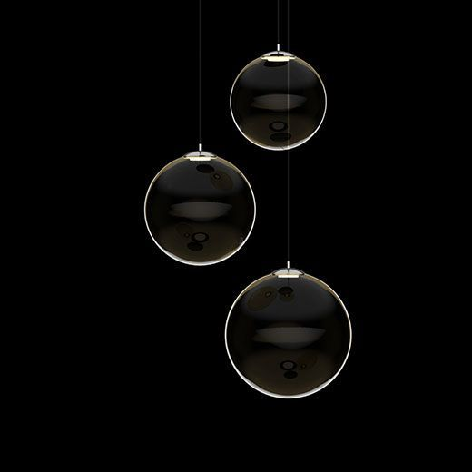Lámpara suspendida esférica