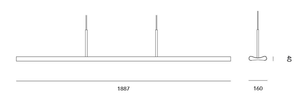 Lámpara de suspensión POIROT de EDEN DESIGN