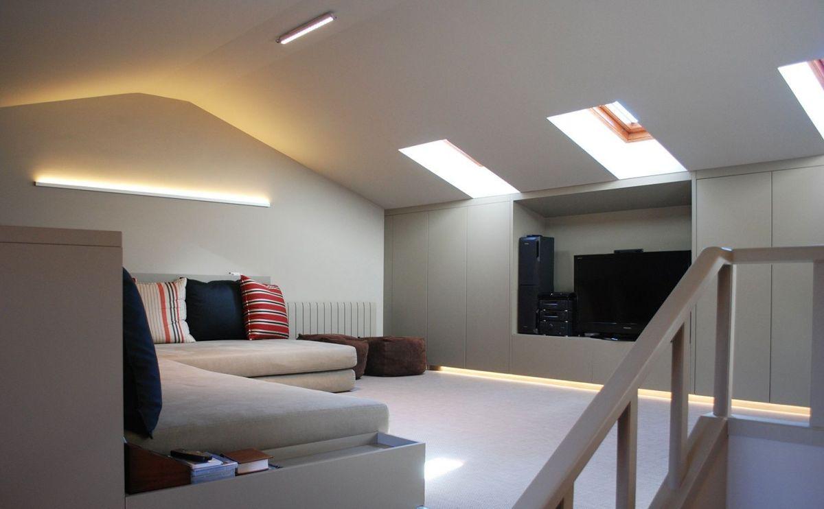 Proyecto de iluminación de salón