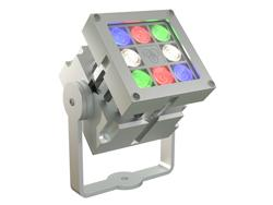 Proyector exterior LED RGB