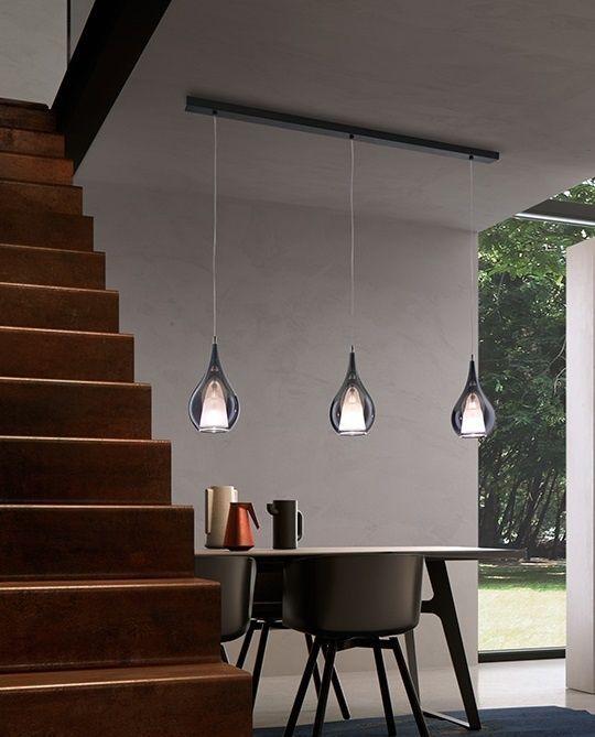 ZOE conjunto lámpara de cristal