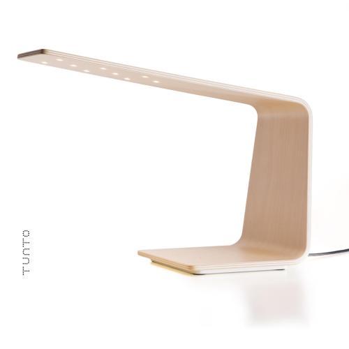 LED1, lámpara led de madera para escritorio