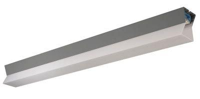 Luminaria lineal con iluminación indirecta