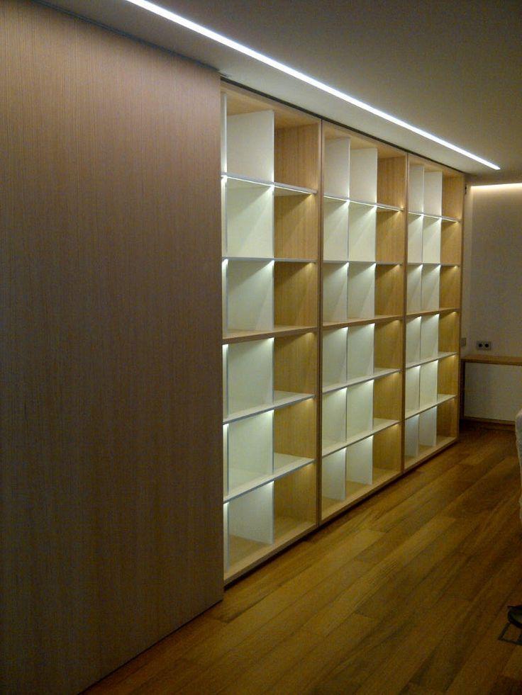 Detalle iluminación en mobiliario