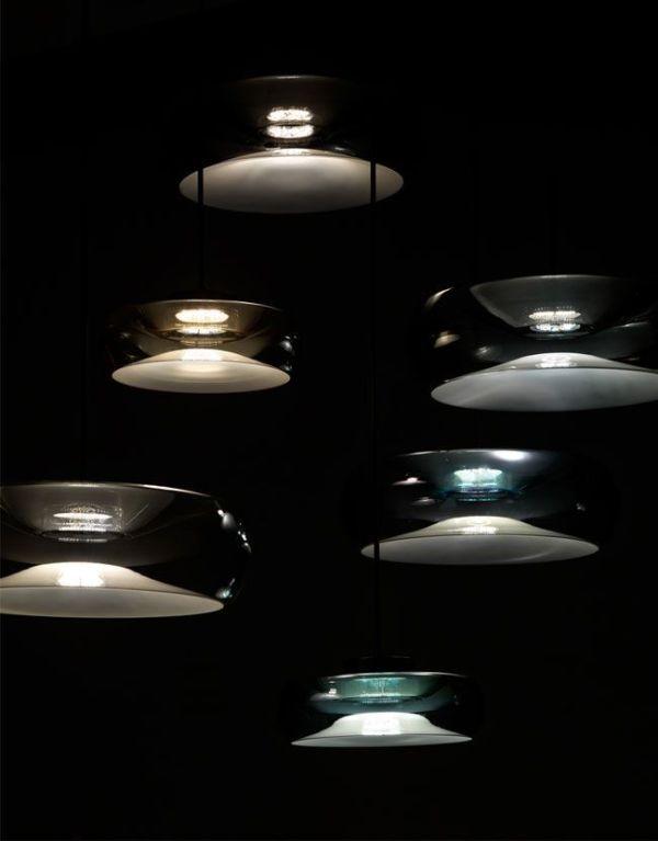 Lámpara colgante de cirstal