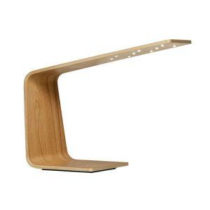 lámpara de madera led para escritorio