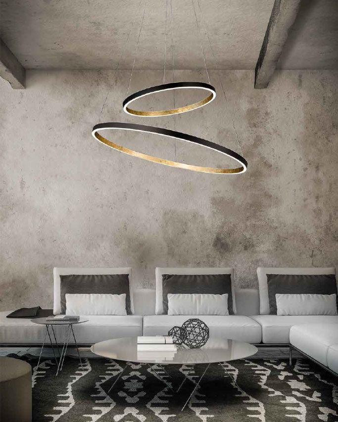 lámparas de techo circulares
